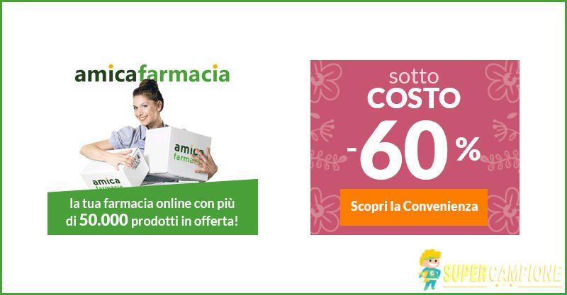 Supercampione - Offerte metà prezzo Amica Farmacia