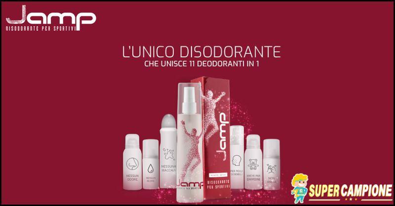 Supercampione - Campioni omaggio disodorante Jamp