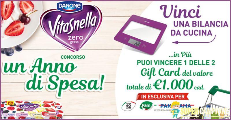 Supercampione - Premio sicuro bilancia da cucina con Vitasnella
