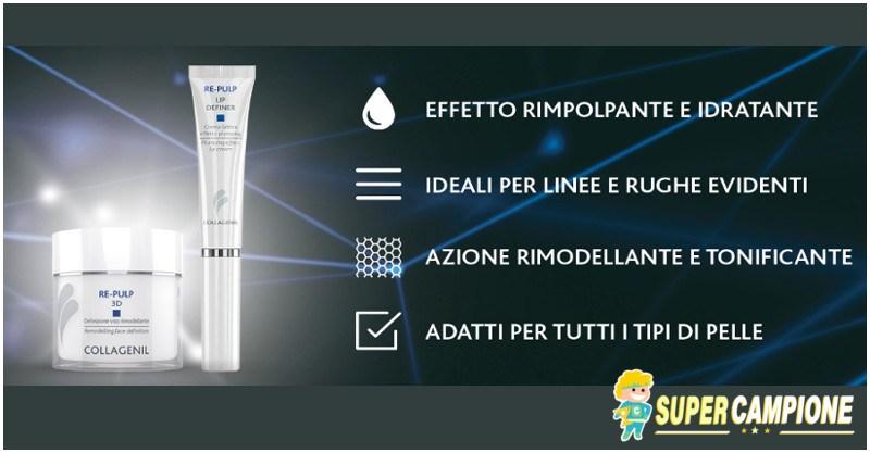 Campioni omaggio Collagenil Re-Pulp