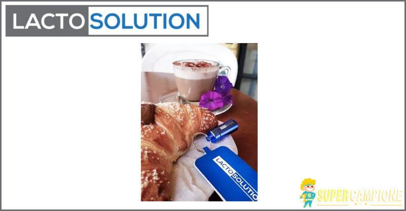 Supercampione - Campioni omaggio Lactosolution per intolleranza lattosio