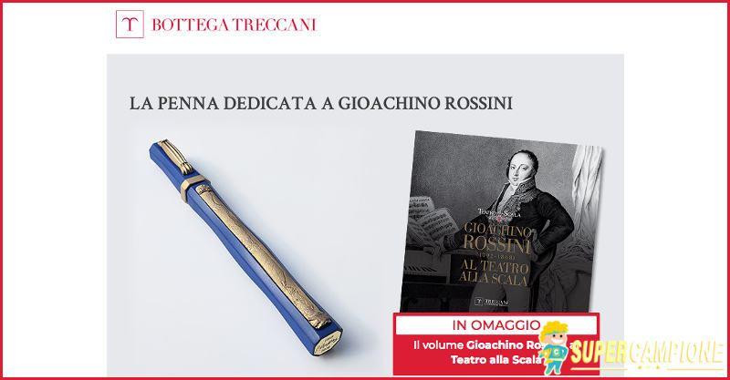 Supercampione - Treccani: omaggio volume Gioacchino Rossini