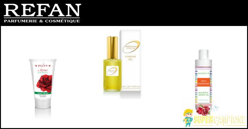 Supercampione - Campioni omaggio profumi e cosmetici Refan