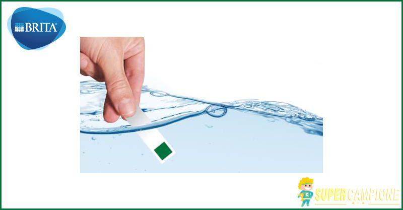 Campioni omaggio test di durezza dell'acqua Brita