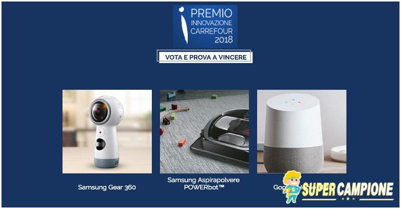 Supercampione - Vinci gratis il robot aspirapolvere Samsung