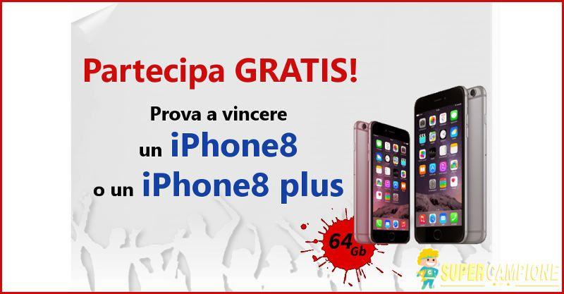 Supercampione - Vinci gratis un Iphone 8