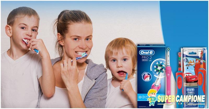 Supercampione - Vinci una coppia di spazzolini elettrici Oral-B