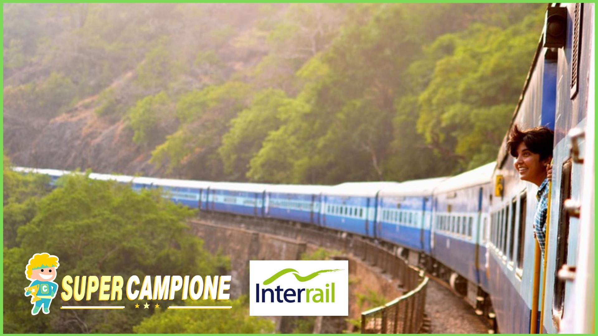 Vinci gratis 2 biglietti Interrail per girare l'Europa