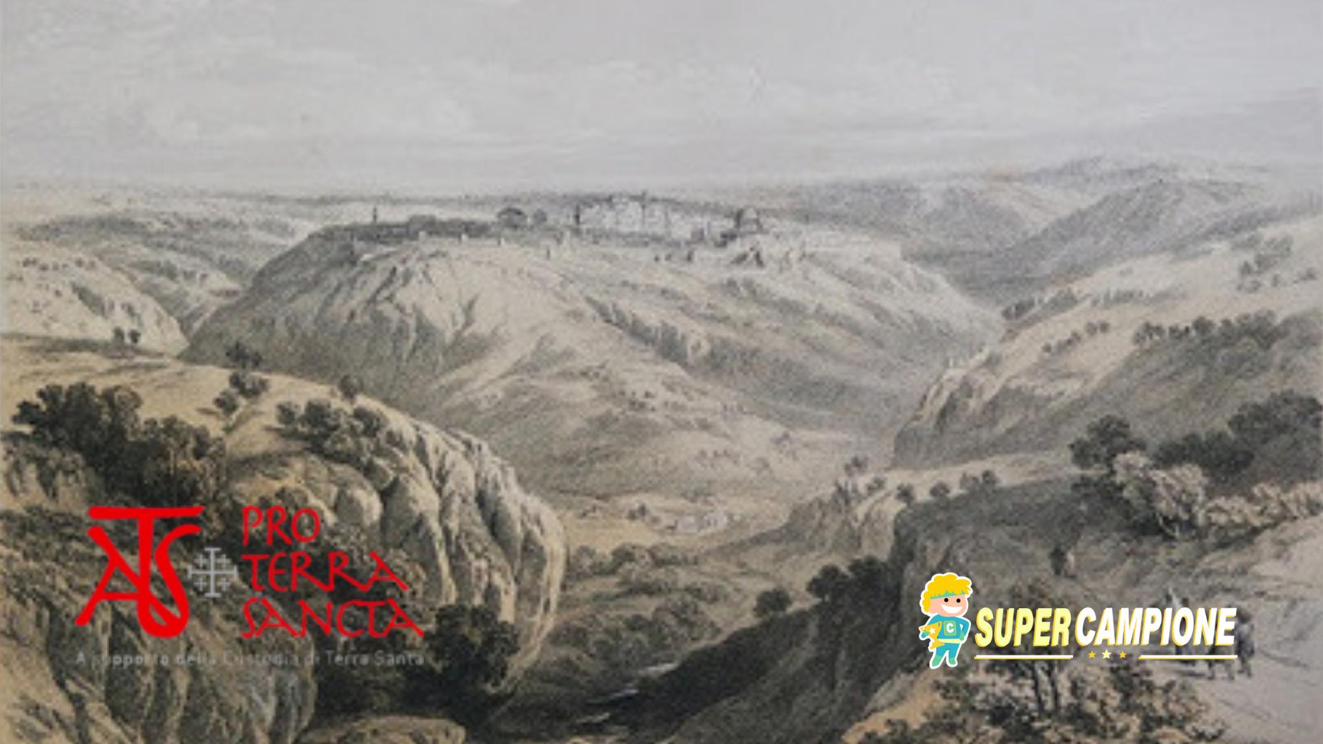 Supercampione - Campione omaggio calendario 2019 di pro Terra Sancta