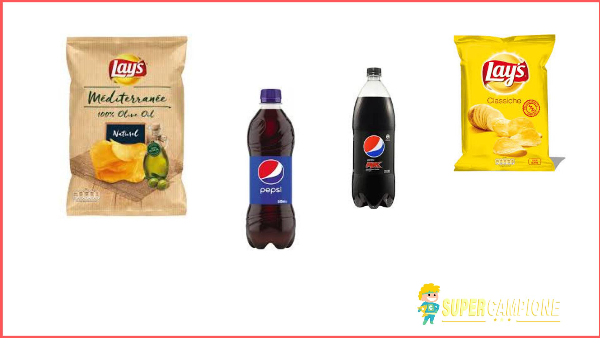 Supercampione - Vinci forniture Pepsi e Lay's