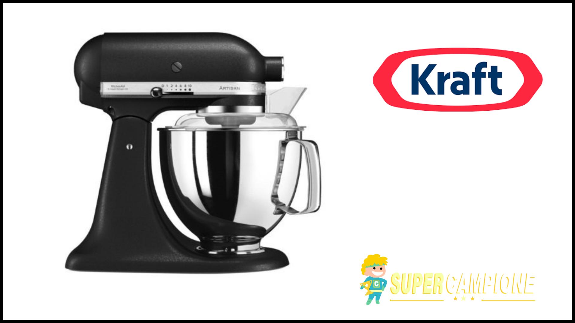 Vinci robot da cucina Artisan KitchenAid con Kraft - SuperCampione