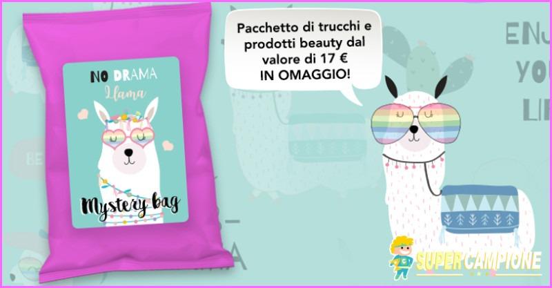 Supercampione - Pacchetto trucchi e beauty gratis!