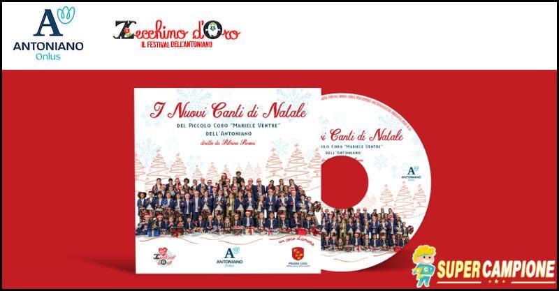 Supercampione - Ricevi omaggio il CD dei Nuovi Canti di Natale