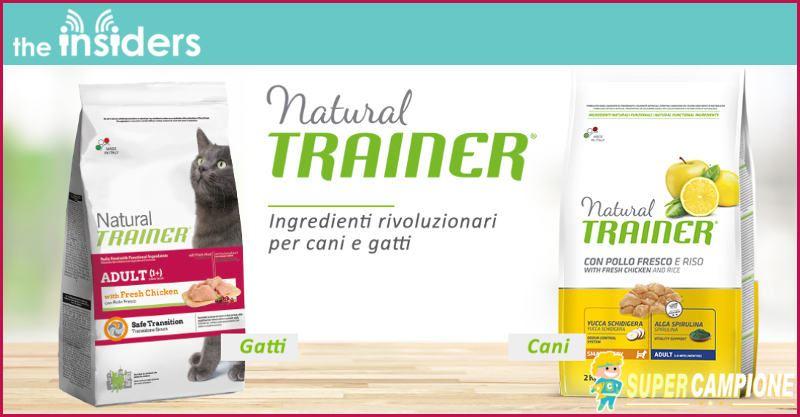 Supercampione - Ricevi gratis i prodotti Natural Trainer cane e gatto