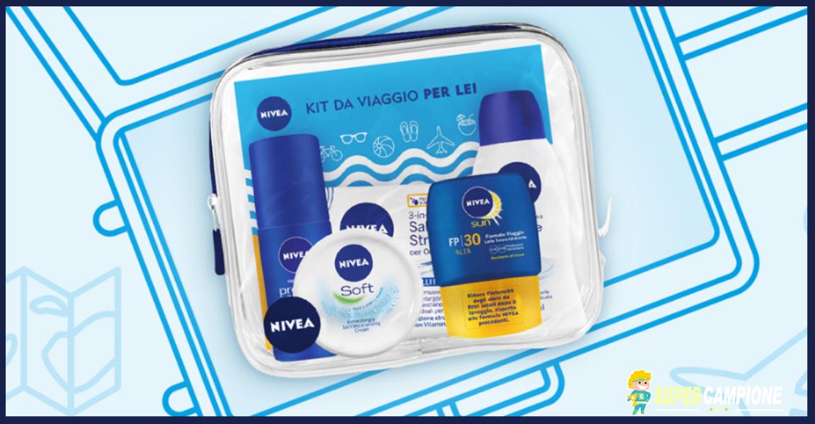 Supercampione - Vinci un kit da viaggio Nivea