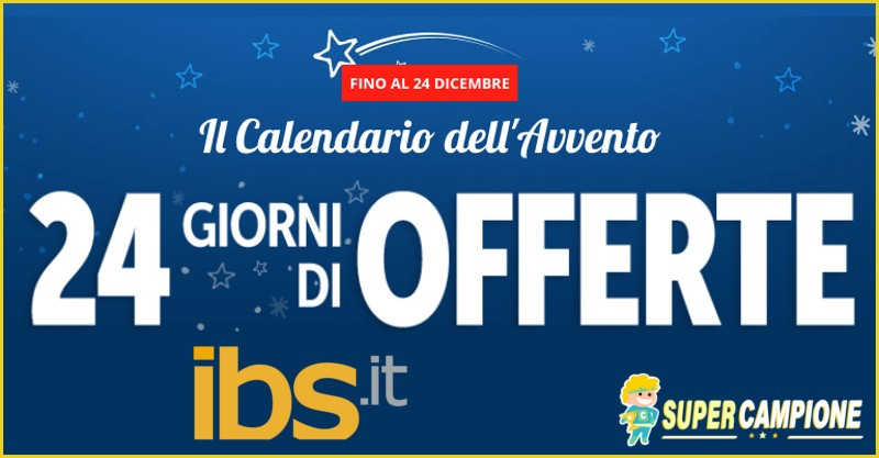 Supercampione - Calendario dell'Avvento IBS