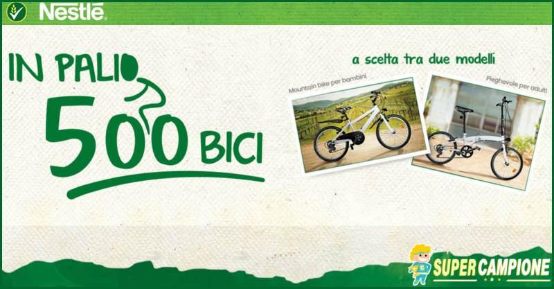 Nestlé: vinci una bici Microbike o Moutain Bike