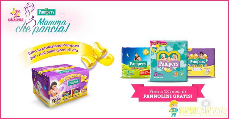 Supercampione - Vinci gratis forniture di pannolini Pampers