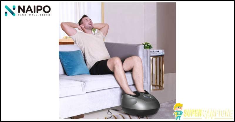 Vinci gratis massaggiatore piedi Naipo
