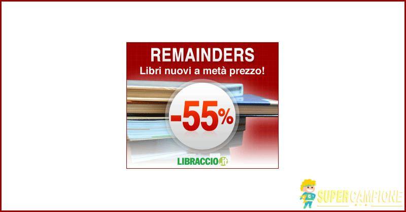 Supercampione - Libraccio: libri al 55% di sconto