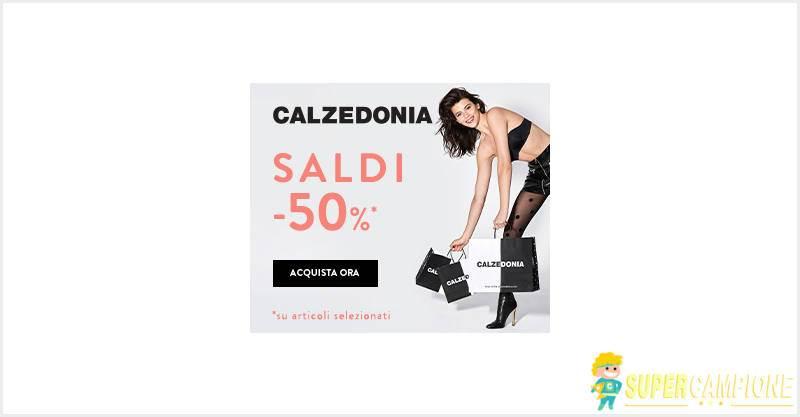Supercampione - Calzedonia: saldi fino al 50%