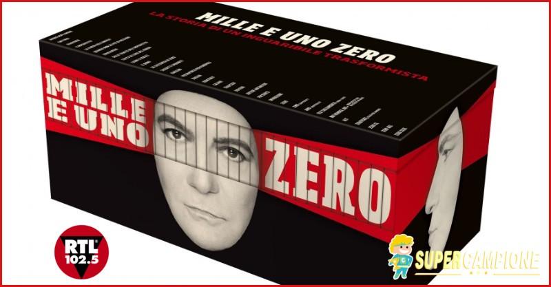 Supercampione - Vinci gratis la discografia di Renato Zero