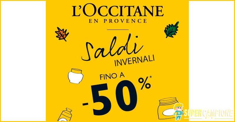 Supercampione - Saldi L'Occitane fino al 50%