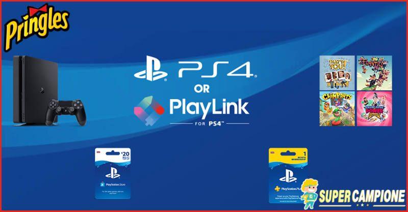 Supercampione - Vinci PlayStation 4 e giochi con Pringles