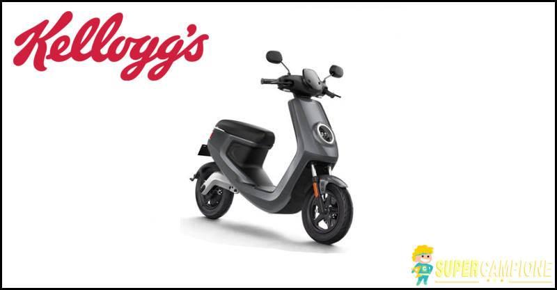 Kellogg's: vinci scooter elettrico