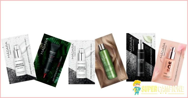 Supercampione - 10 campioni omaggio Madara Cosmetics