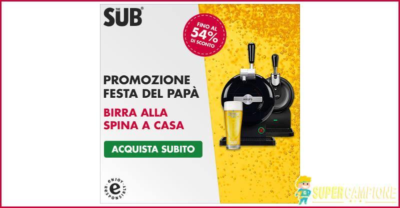 Supercampione - Speciale festa del Papà: Heineken The Sub sconto 54%