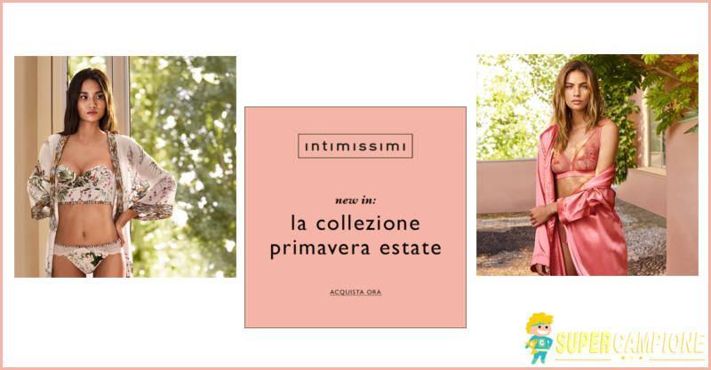 Nuova collezione Intimissimi primavera / estate