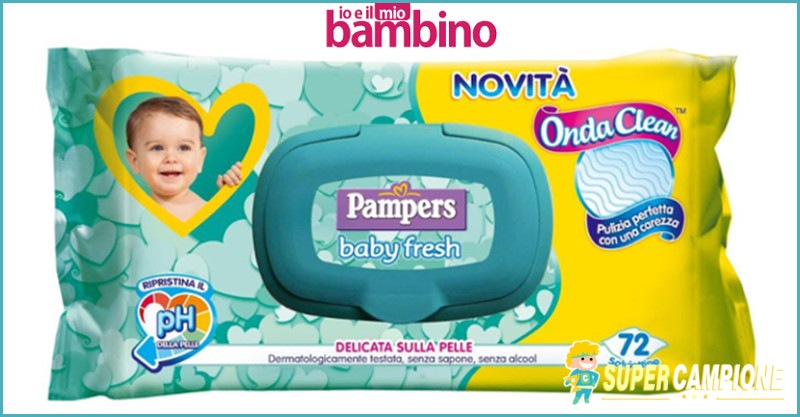 Supercampione - Diventa tester Pampers