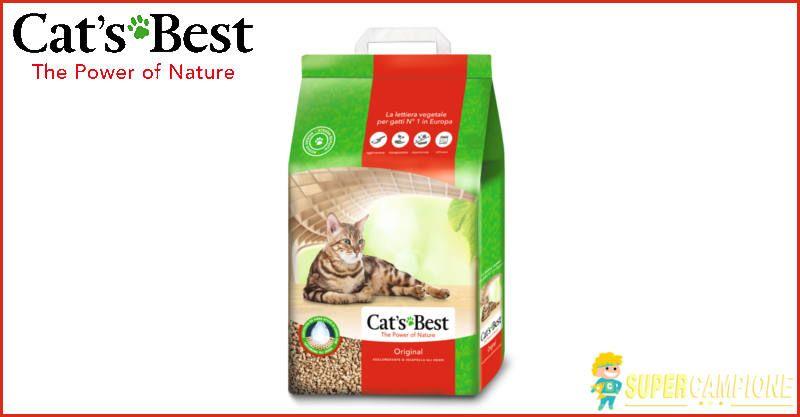 Supercampione - Diventa tester lettiere Cat's Best
