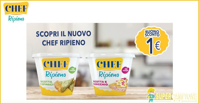 Supercampione - Buoni sconto Parmalat Chef ripieno 1€