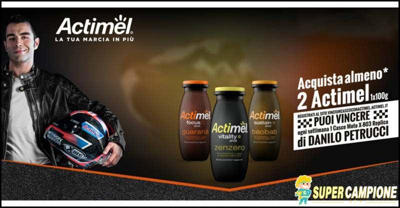 Actimel: vinci il casco di Danilo Petrucci