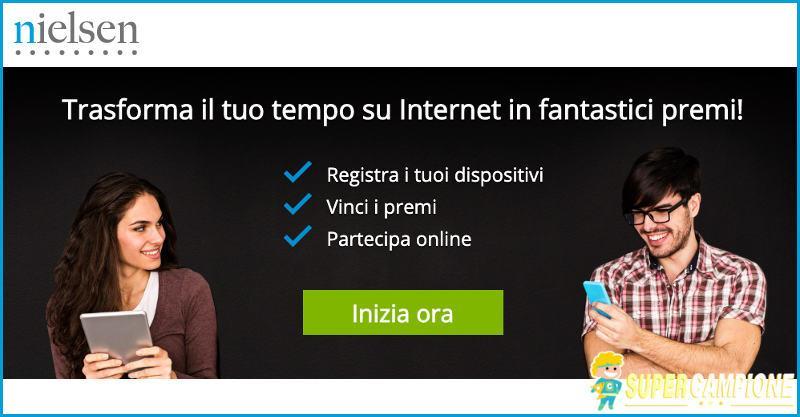 Supercampione - Nielsen: installa gratis l'App e vinci premi