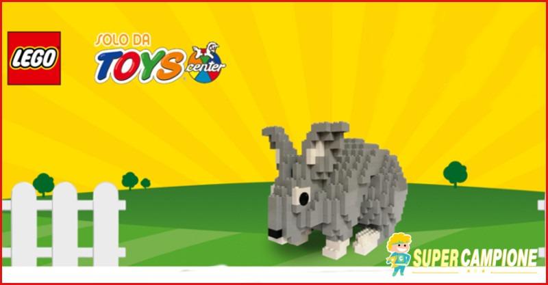 Vinci gratis un coniglietto LEGO