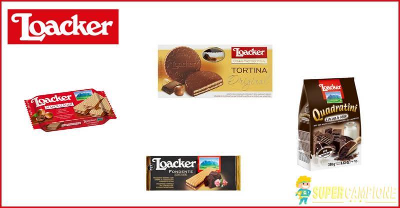 Loacker: vinci gratis una fornitura da 100€