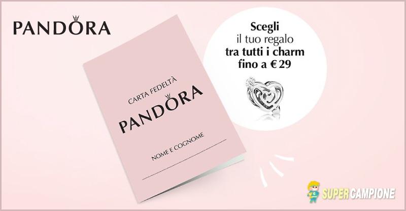 Pandora ti regala uno charm