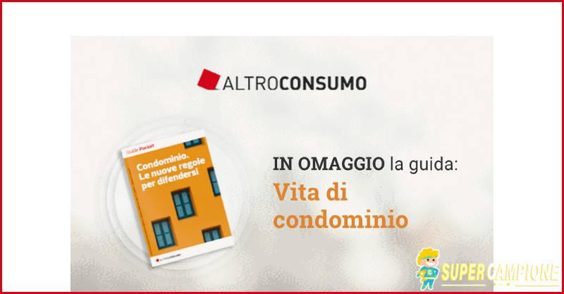 Omaggio Altroconsumo: guida Condominio