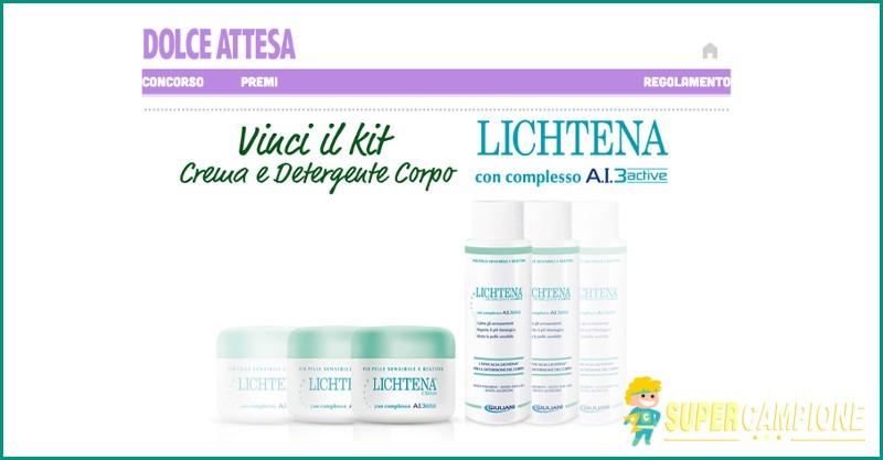 Supercampione - Vinci il kit Lichtena