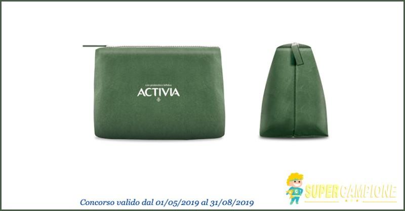 Ricevi omaggio la pochette termica con Activia