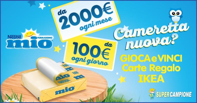 Supercampione - Vinci carte regalo IKEA