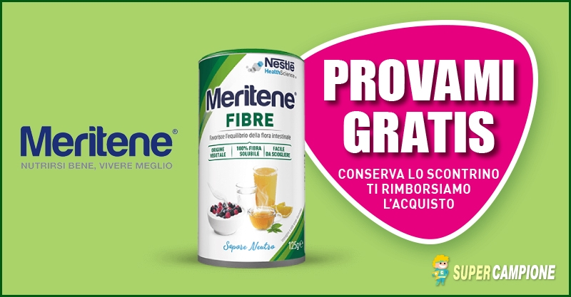 Supercampione - Spendi e riprendi Meritene Nestlé
