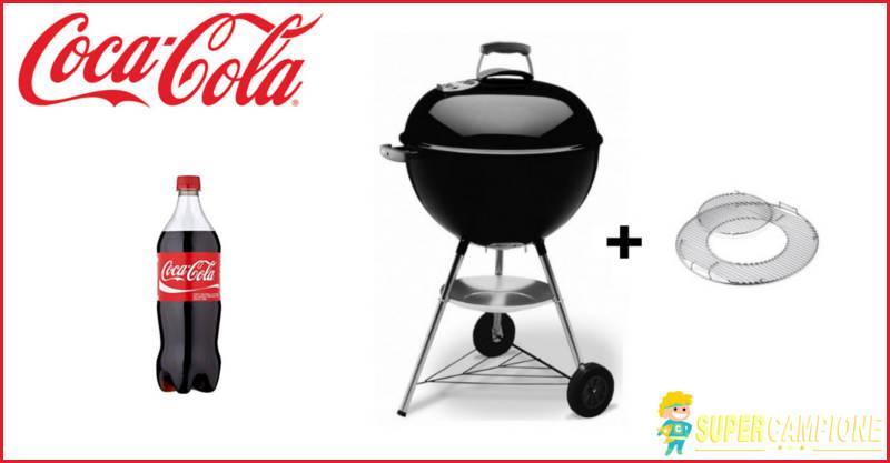 Supercampione - Coca Cola: vinci un barbecue Weber ogni giorno
