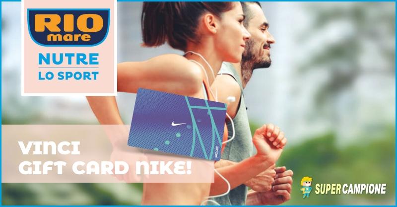 Supercampione - Rio Mare: vinci gift card Nike da 200€
