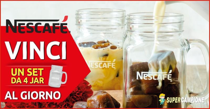 Supercampione - Vinci un set Jar con Nescafé
