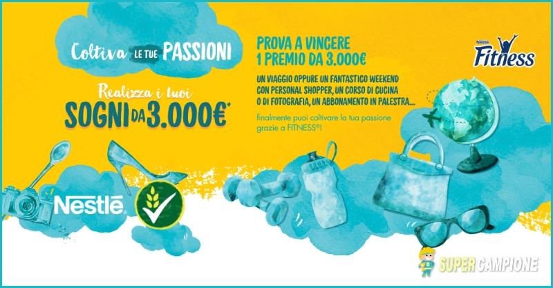 Supercampione - Vinci 3.000€ con Nestlè