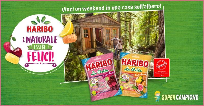 Haribo: vinci un weekend e tanti altri premi